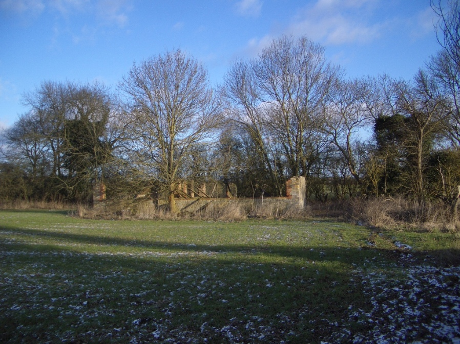 The Remains of Tinnick Barn, 11 February 2010