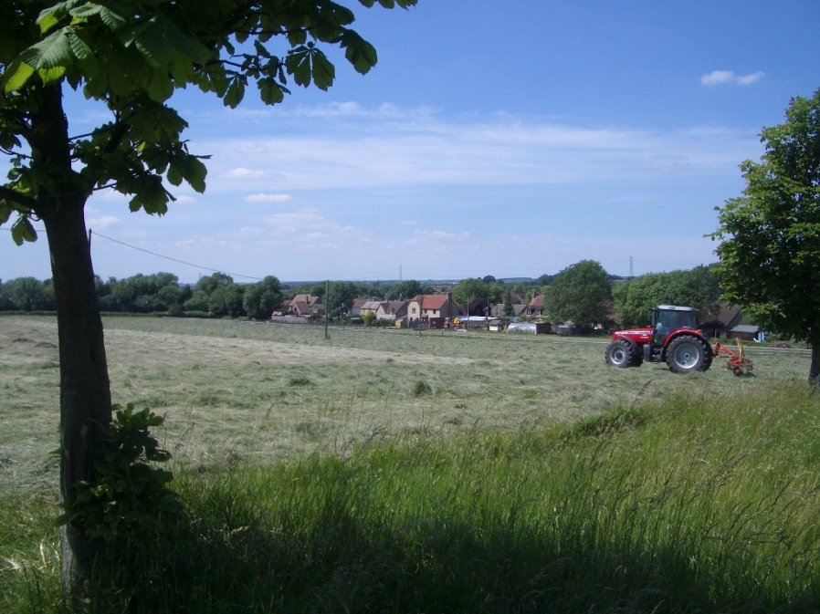 Making Hay at Uphoe Farm - 22nd June 2010