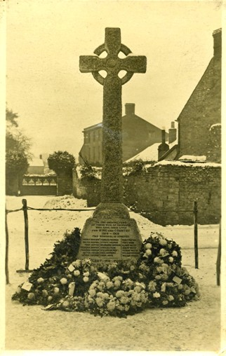 Lavendon War Memorial c1921
