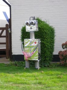 Robot by Ron Blomfield