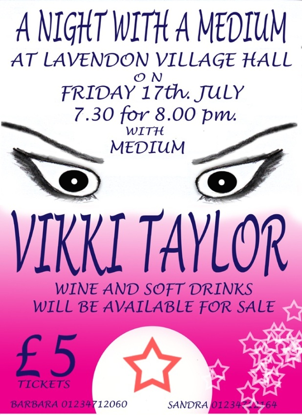 Lavendon Village Hall Fund-raiser 17th July
