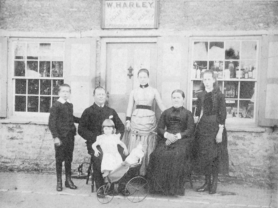 The Harley Family of Northampton Road.