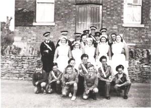 St John's Ambulance Brigade - Lavendon Branch c1952