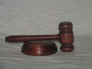 Gavel made by Templarcraft Wood Turning