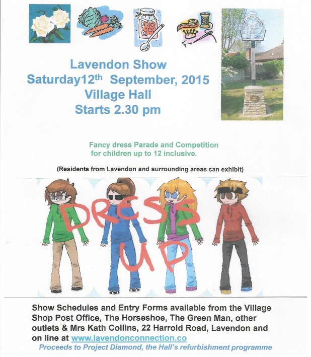 Lavendon Show - Fancy Dress Competition