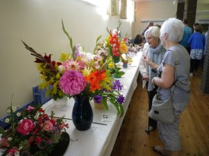 2015 Lavendon Show Flower Displays