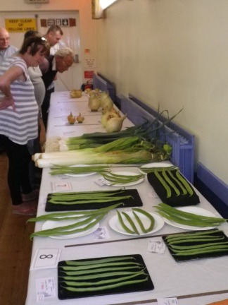 2015 Lavendon Show Vegetables