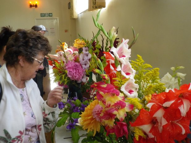 2015 Lavendon Show Flower Display
