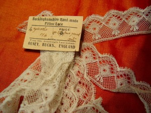 Buckinghamshire Hand-made Lace from Mrs Armstrong's Lace-makers, Olney