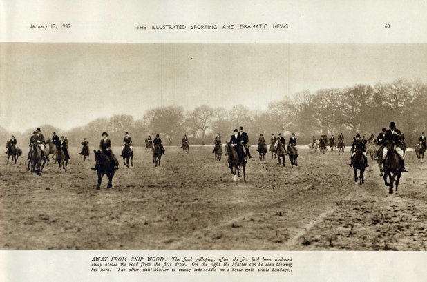 The Oakley Hunt near Snip Wood