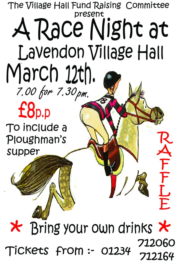 Race Night in Village Hall