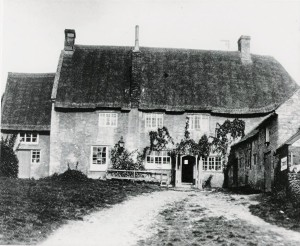 The 'Hit or Miss' public house, Lavendon, as it appeared in the 1920s.