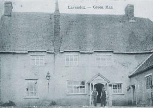 An early view of the Green Man