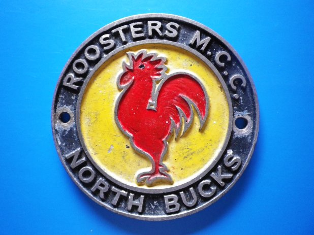 Badge of the Roosters Motorcycle Club - North Bucks