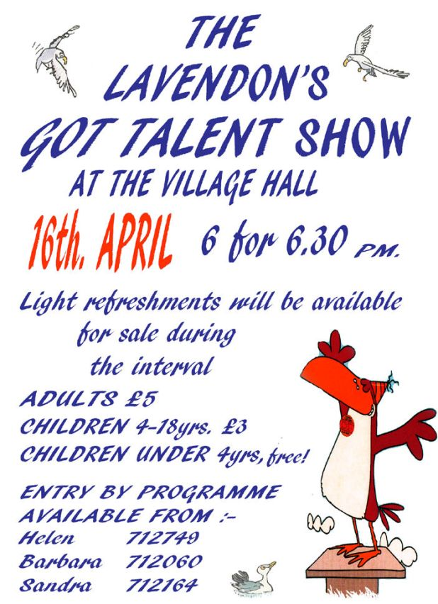 Lavendon's Got Talent Show