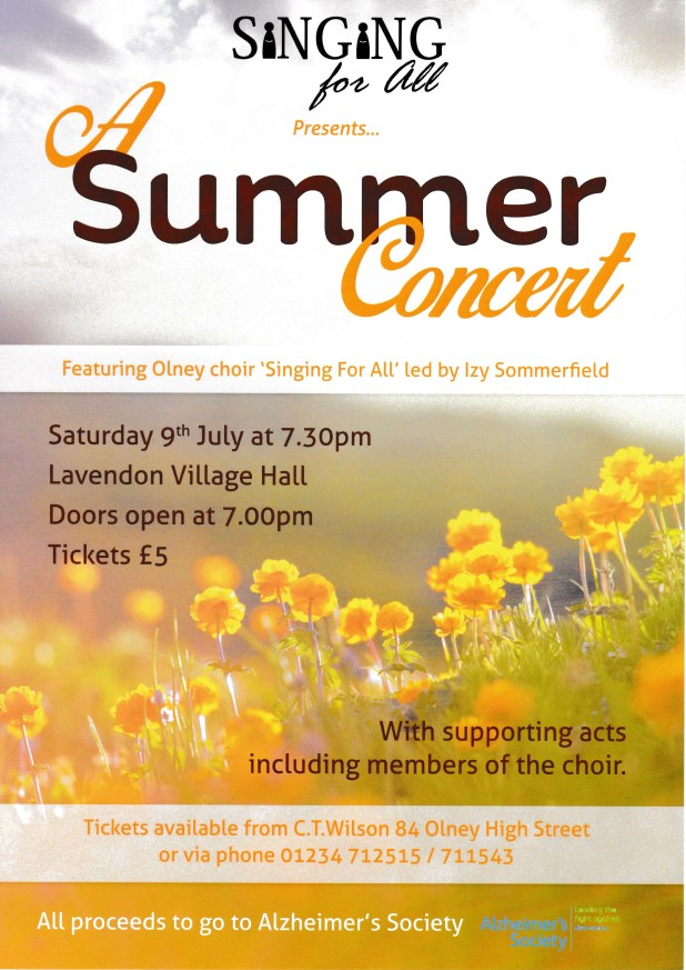 Summer Concert 9th July 2016