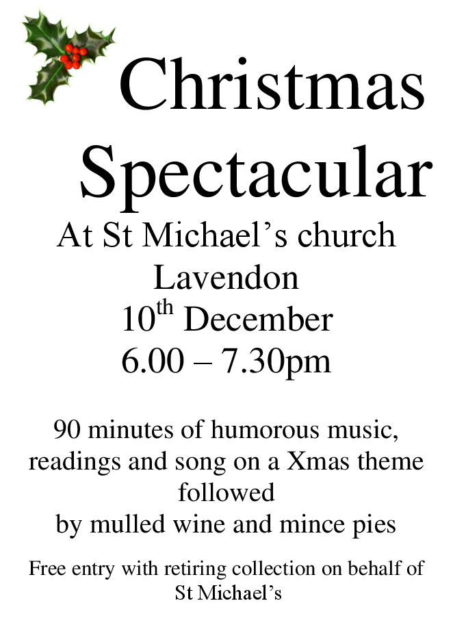 Christmas Spectacular at St Michael's Church