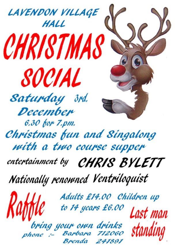 Christmas Family Social in Lavendon Village Hall