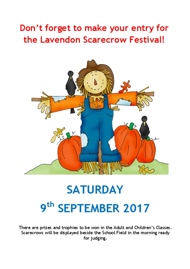 Build a Scarecrow - prizes to be won!