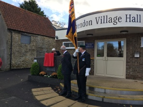 Unveiling the Airfield Memorial