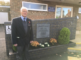 Mr Roddy Moore, Chairman Royal British Legion Lavendon Branch