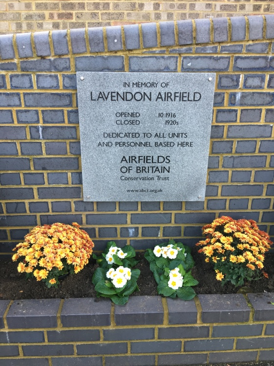 The Memorial was generously donated by the 'Airfields of Britain Conservation Trust'