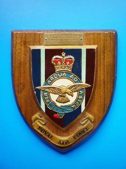 RAF Vampire Crash